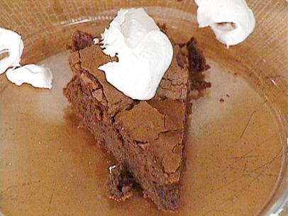 Chocolate ancho chile flourless cake