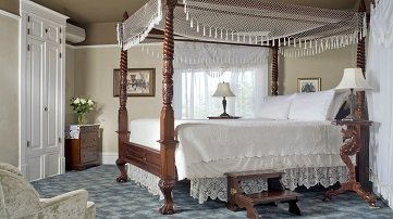 Bottger Mansion Guest Rooms
