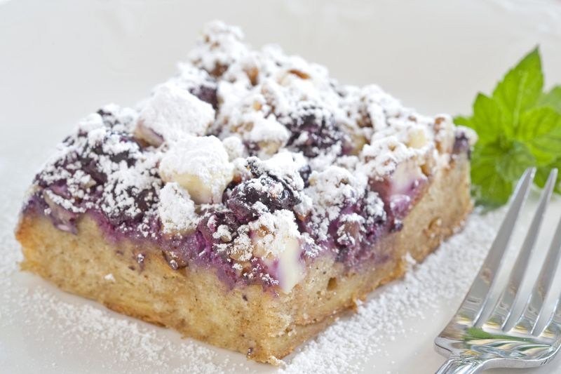 blueberry french toast squares