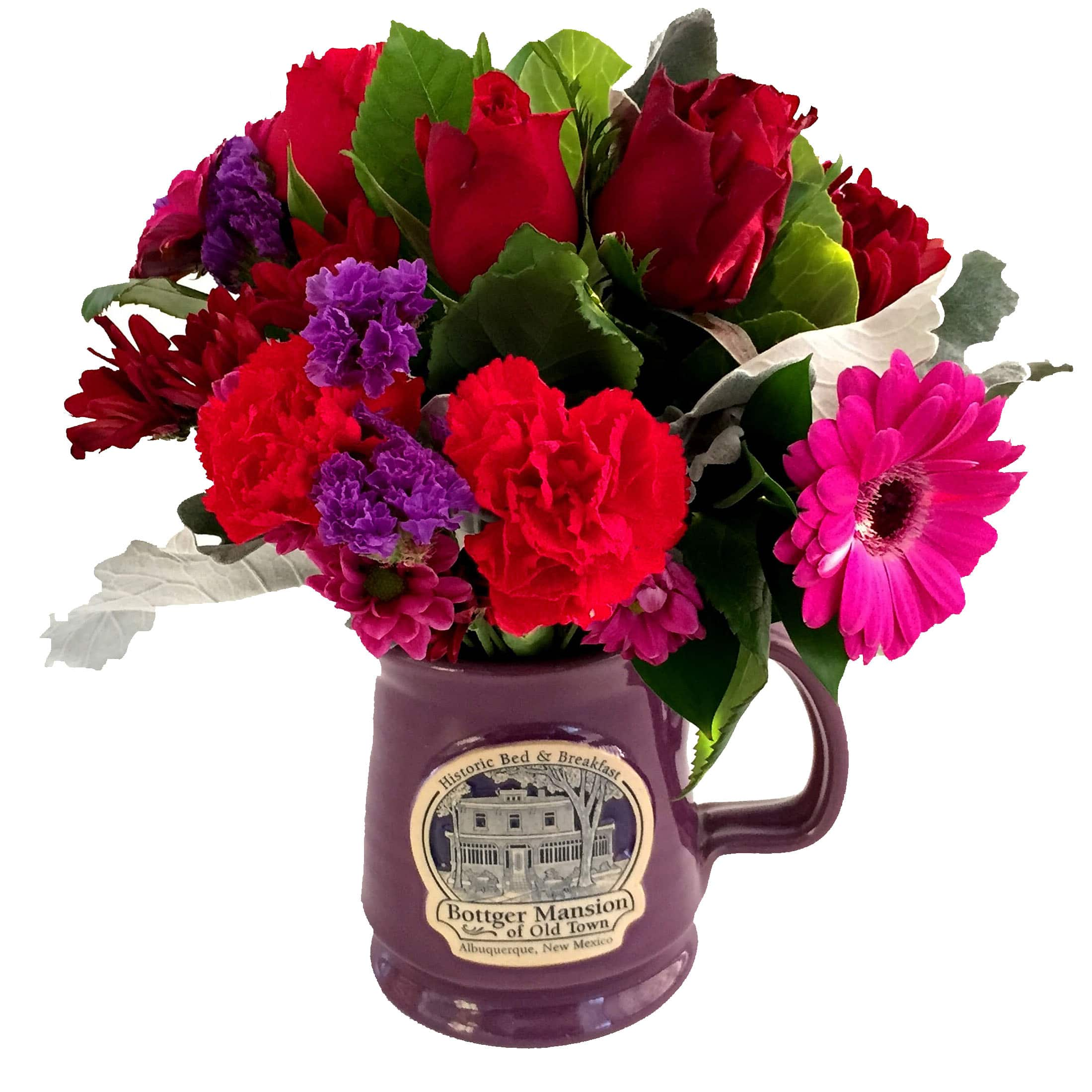 Flowers in flower vase