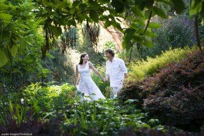 Botanical Gardens Albuquerque Wedding