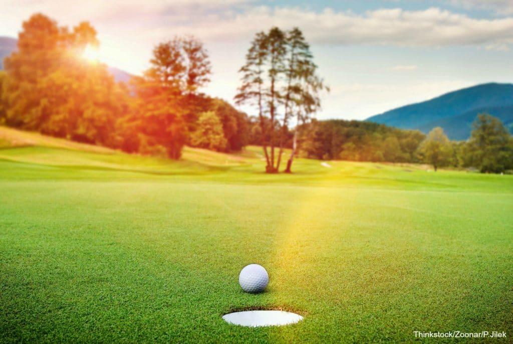 Golfing in Albuquerque