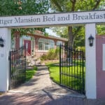 Gate and Sign of Bottger Mansion