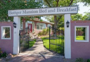 Front and Gate at Bottger Mansion