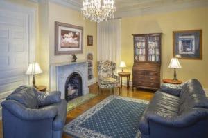 Living Room at Bottger Mansion