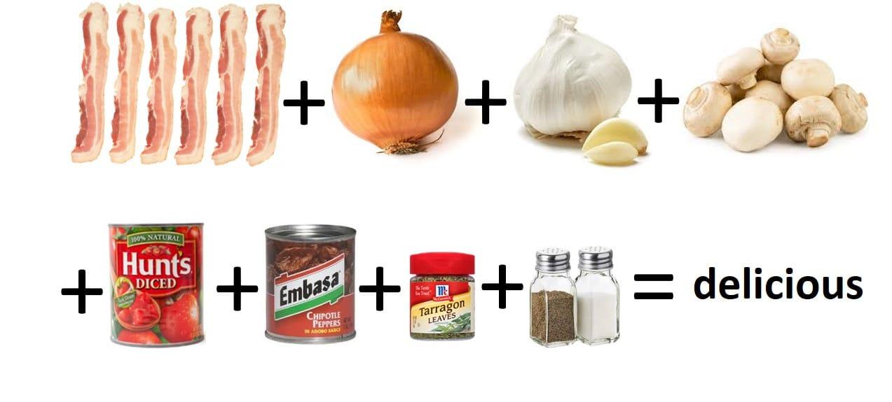 New Mexico spaghetti sauce