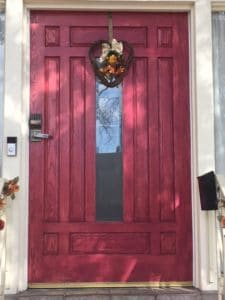 Bottger Mansion front door
